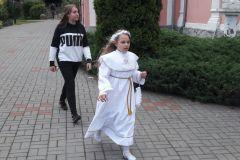 Dzieci komunijne w Zielonce Pasleckiej