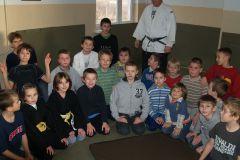 Ministranci - trening judo